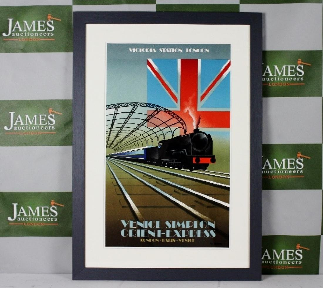 Fix Masseau -Venice Simplon Orient Express, 1985