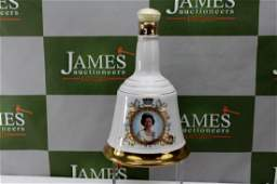 Boxed Wade Bells Scotch Whiskey Decanter ltd edition