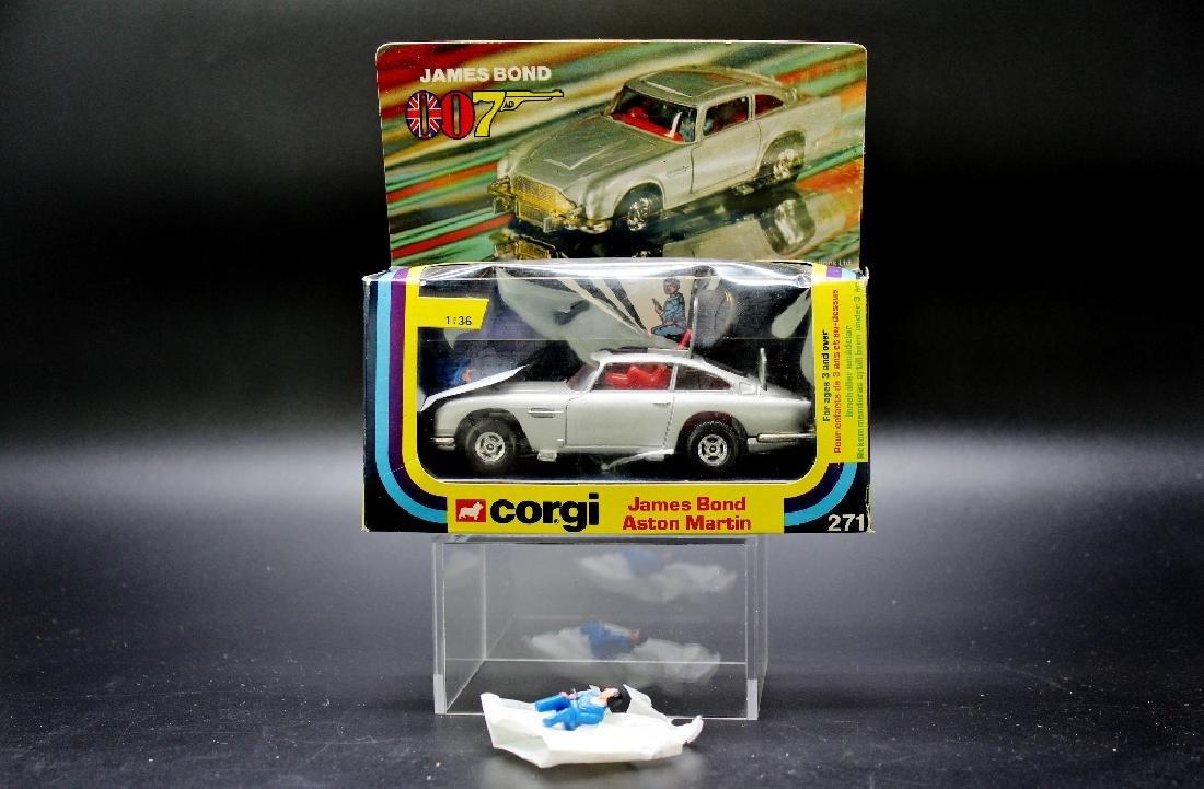 Corgi Toys James Bond Aston Martin model no.271, boxed, - 2