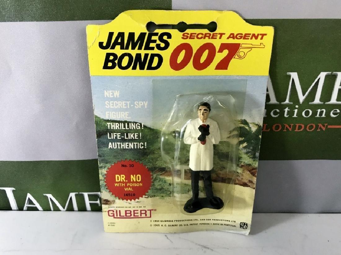 Gilbert James Bond 007 Dr No No 10 Figure On Card