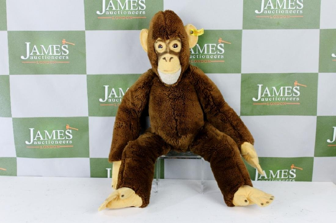 "A Steiff -The large monkey"" 21 inch edition"