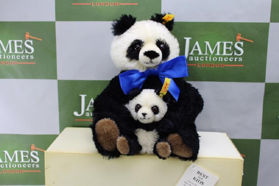A Steiff Panda 'Cha Cha', model No. 428, exclusively