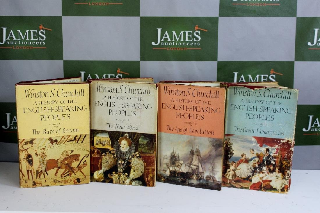 Collection of first edition hardback Winston