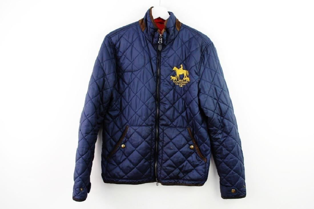 Ralph Lauren Sports reversible quilted jacket,Size