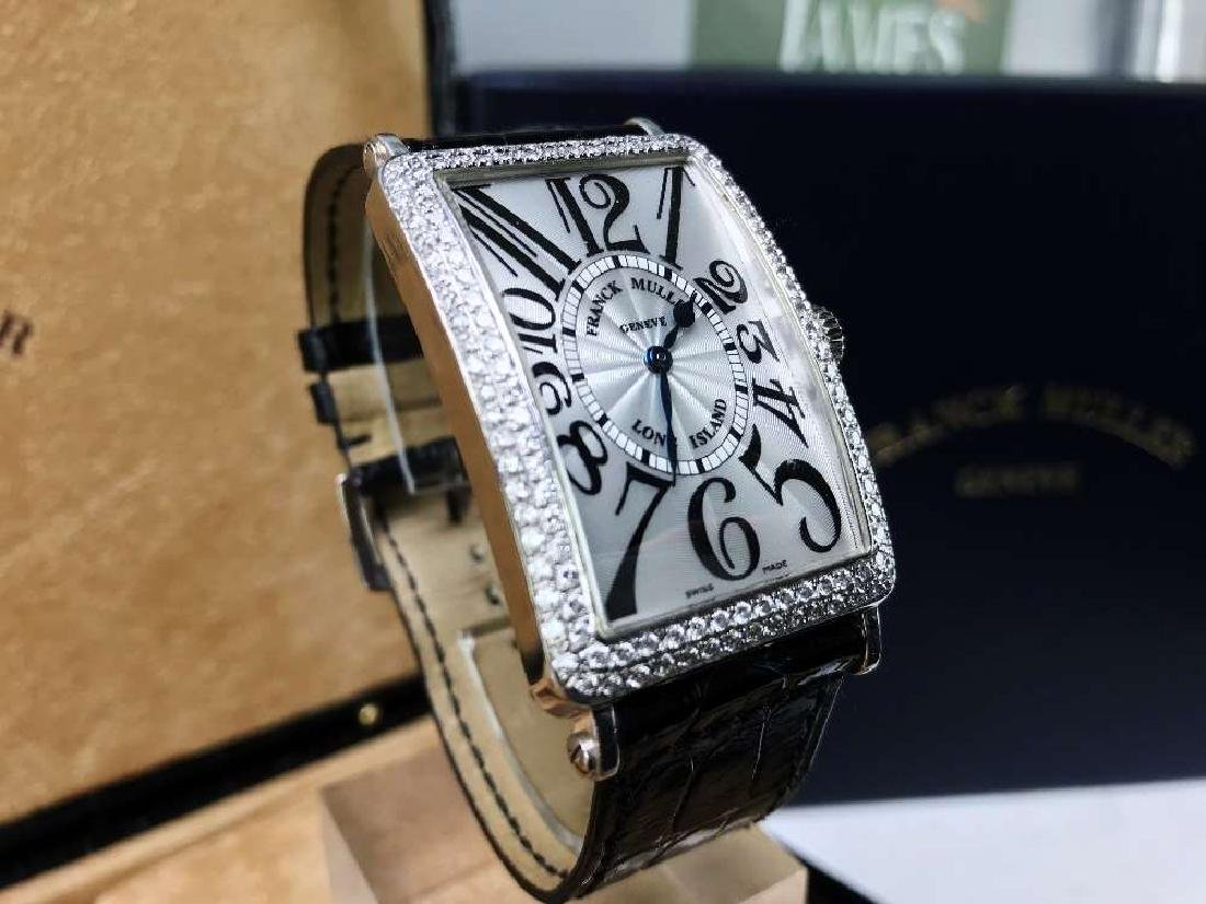 Franck Muller-Long Island Diamond Edition, RRP £15,000