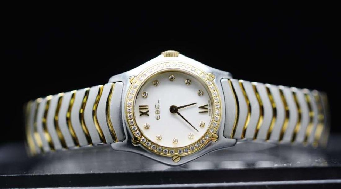 Ladies Ebel Classic Wave Factory Diamonds Edition,