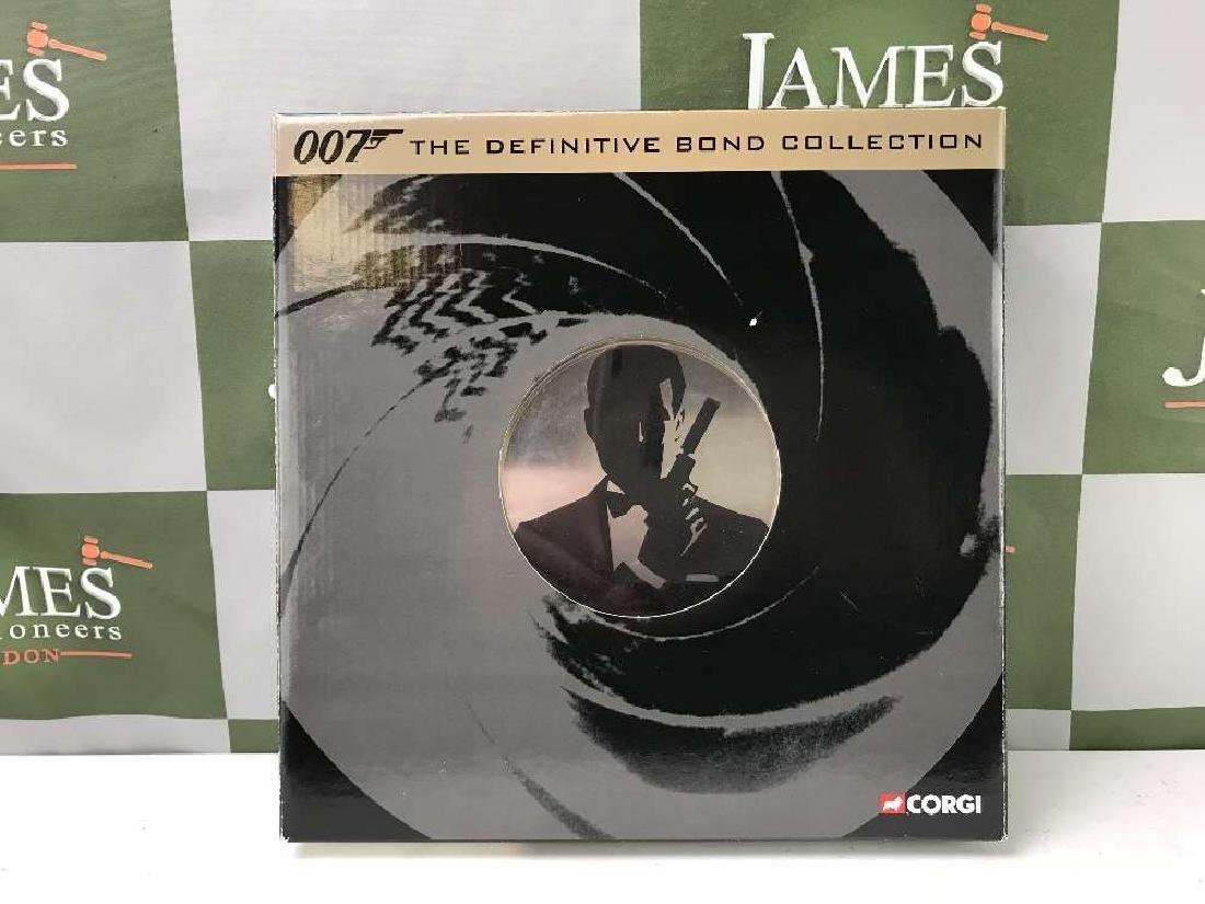 James Bond 007 Corgi The Definitive Bond Film Canister