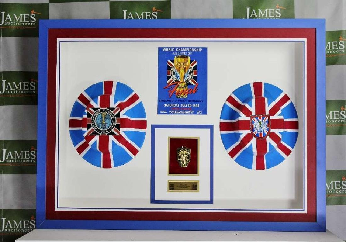 England World Cup 1966 Winning Collection of