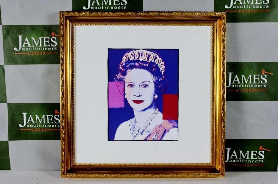 """Andy Warhol """"Elizabeth""""  1987 Ltd Edition Lithograph"""