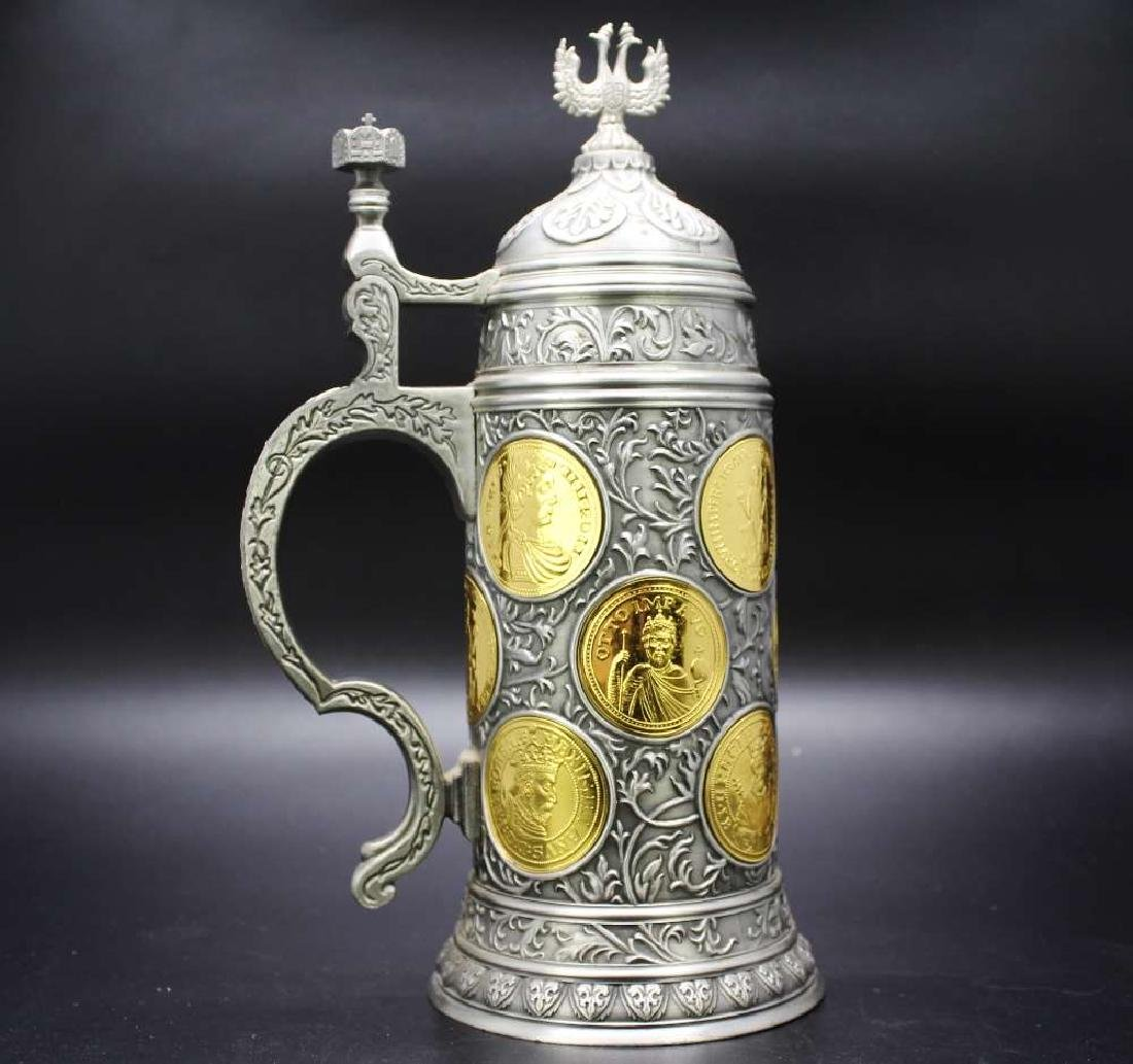 Franklin Mint Kaiserhumpen Stein 200, Gold Plated 22ct