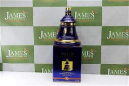 Boxed Wade Bells Scotch Whiskey Decanter ltd