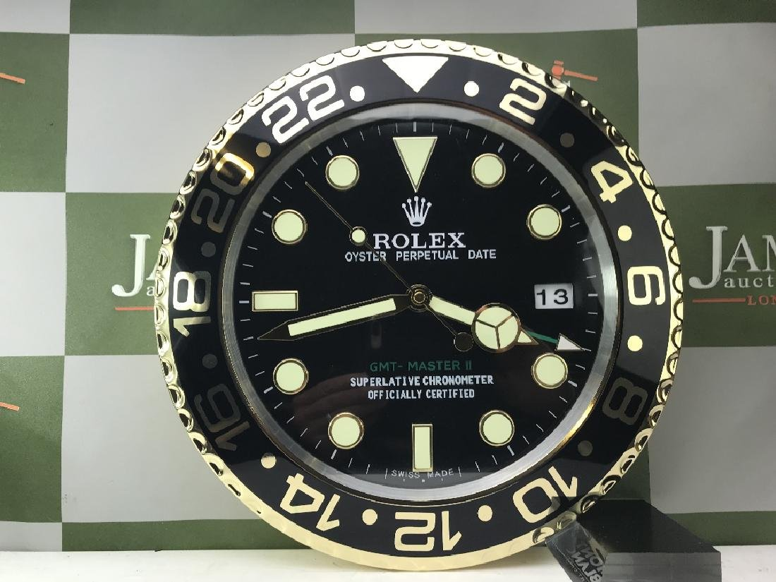 Rolex Dealer Oyster Perpetual Date GMT Submarine Clock