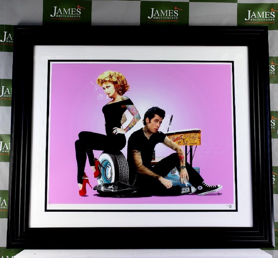 "JJ Adams - Ltd edition #16/95 ""Grease"", Wishbone"