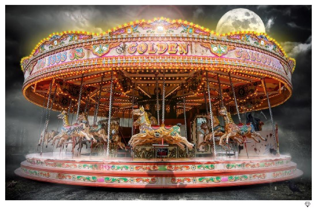 "JJ Adams - Ltd edition ""Carousel"", Wishbone publishing - 2"