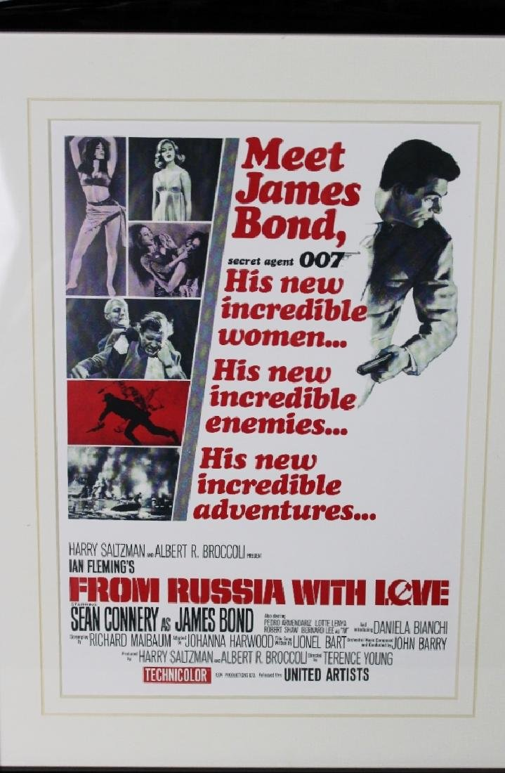 """James Bond 007 Retro Movie Promo - """"From Russia With - 2"""