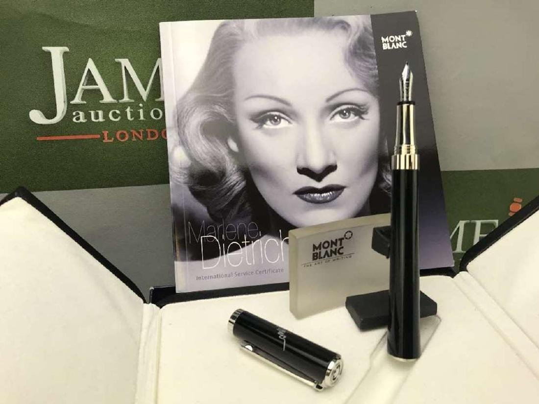 Marlene Dietrich Ltd Edition Montblanc Fountain Pen,RRP