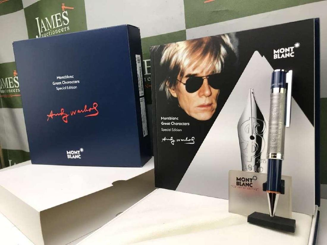 New Montblanc Andy Warhol Great Characters  Ltd Edition