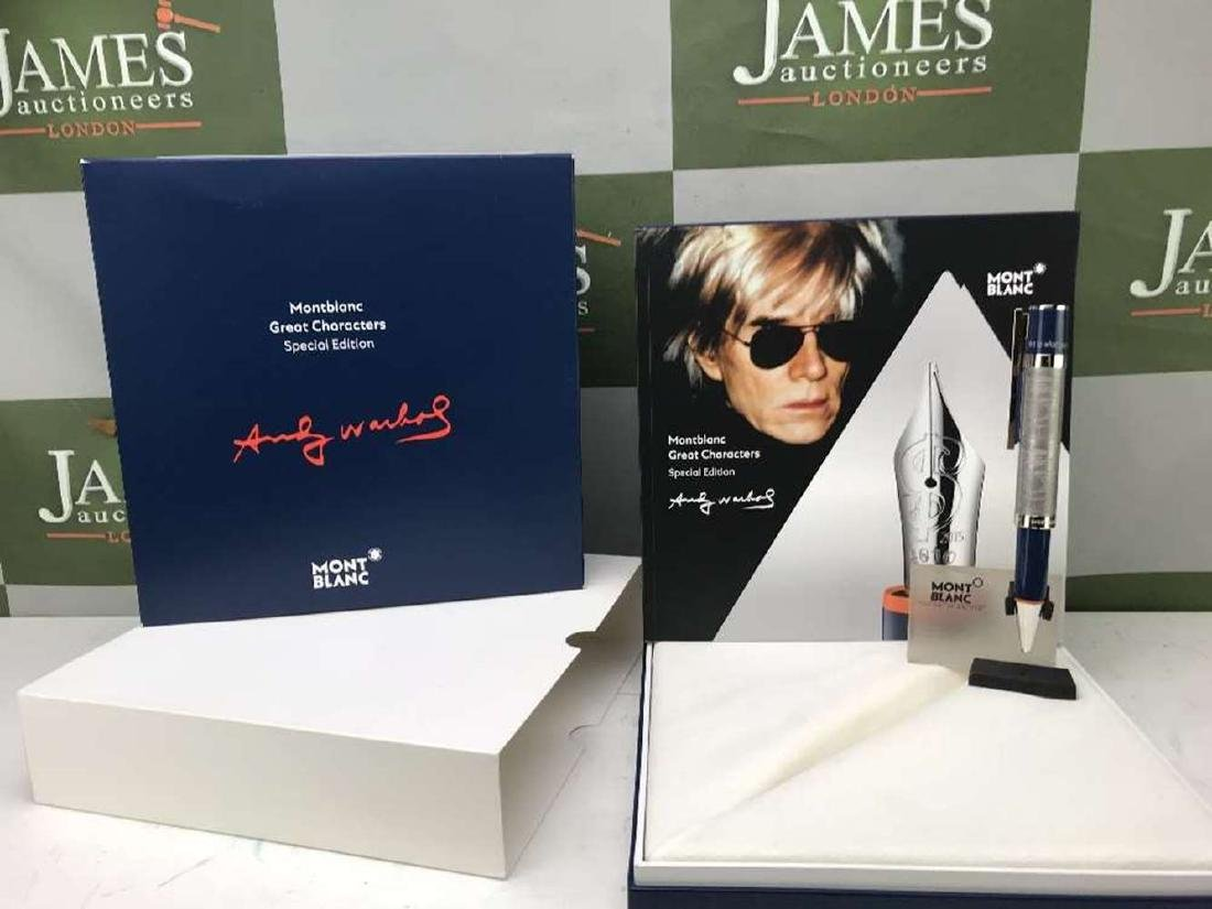 New Montblanc Andy Warhol Great Characters  Ltd Edition - 5