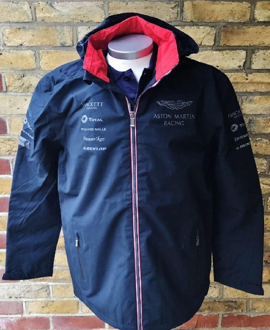 Aston Martin- Hackett Collection Waterproof Jacket, New