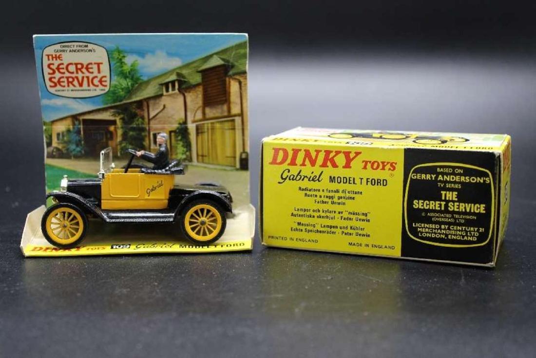 "Zero original Dinky Toy "" The Secret Service"" - 3"