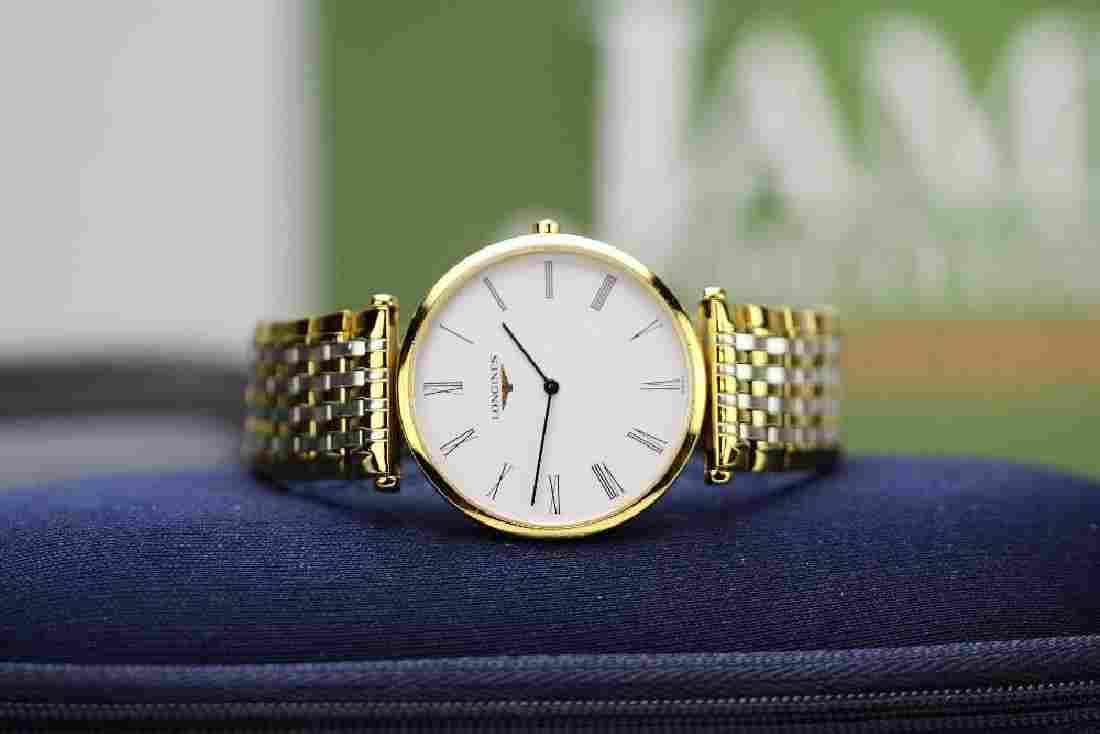 Longine La Grande Classic Gold Dress Watch