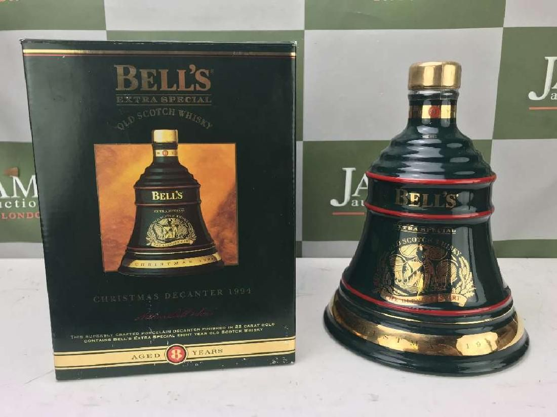 Boxed Wade Bell's -Scotch Whiskey Decanter ltd Edition