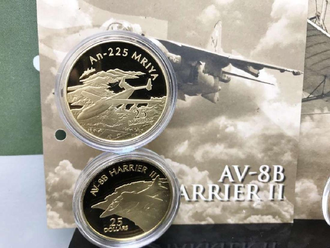 History of Powered Flight $25 Dollar 999 Silver and - 4