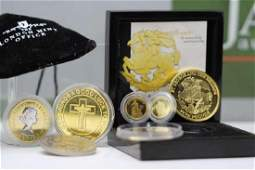 Collection of Gold Coins Including St George £5
