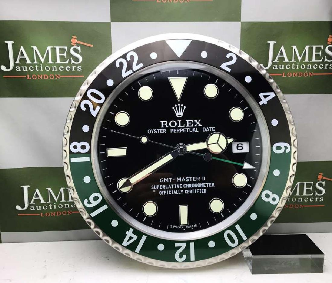 Rolex Dealer Oyster Perpetual Date GMT Submariner Clock