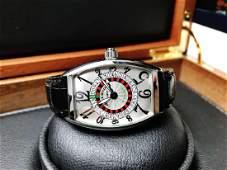 Franck Muller Vegas Roulette stainless steel 5850
