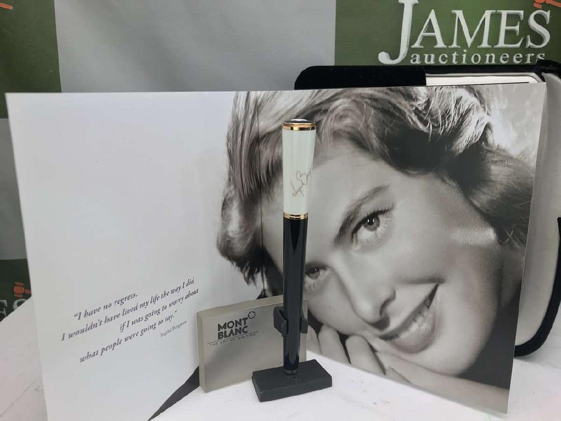 Montblanc Ingrid Bergman La Donna Limited Edition