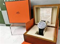 Hermes Clipper Divers Chronograph Date Ref: CL2.915