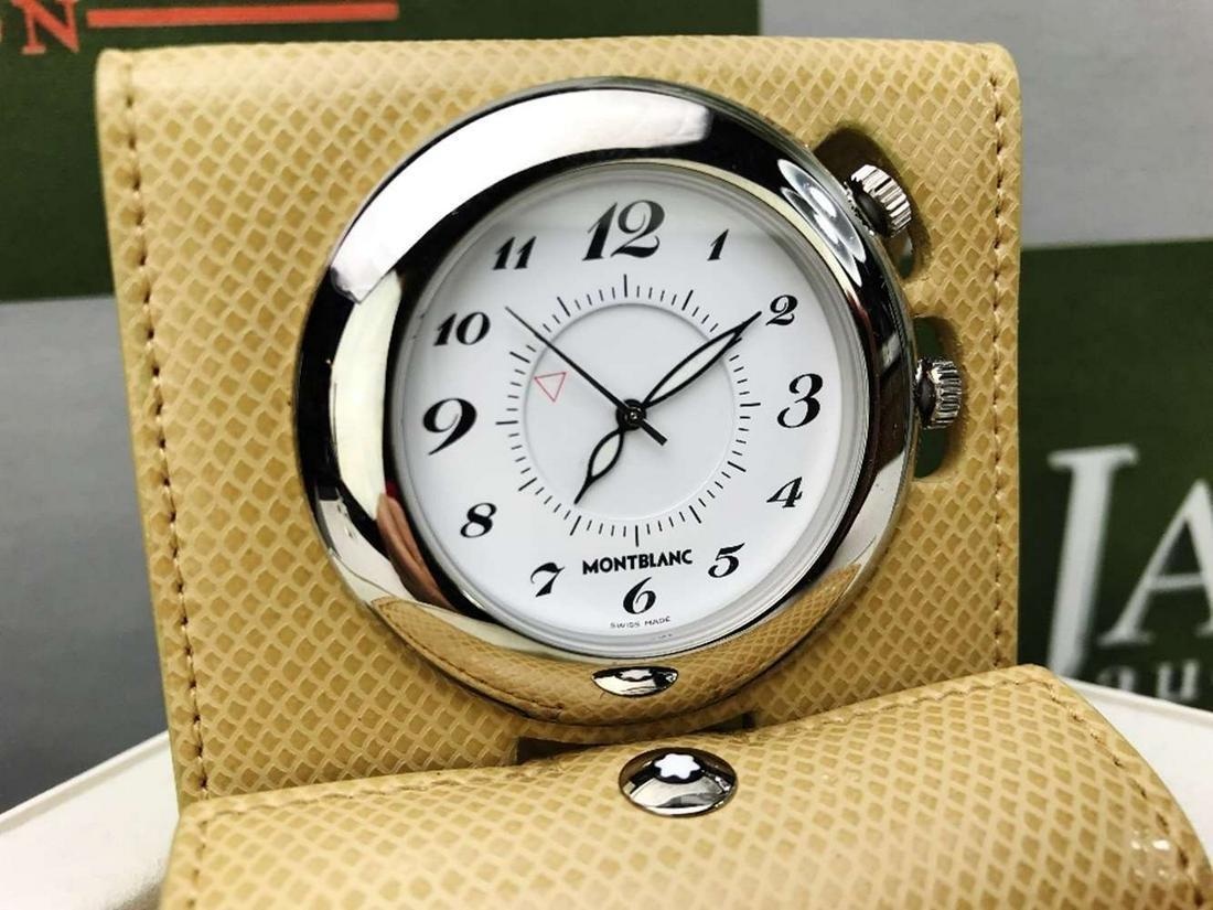 Montblanc Travel Alarm Clock
