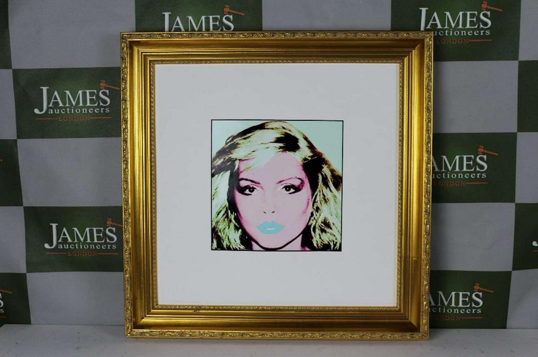 "Andy Warhol ""Blondie"" 1987 Ltd Edition Lithograph"