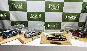 Complete Collection of Danbury Mint Aston Martin DB5`s