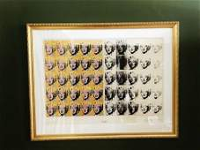 Andy Warhol 50 Faces of Marilyn Monroe Lithograph