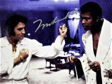 Muhammad Ali Signed Meeting With Elvis Presley -Las
