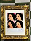 Andy Warhol 1984 Diana Ross Lithograph 17100 Ltd