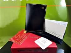 Cartier-Paris Leather Credit Card Holder