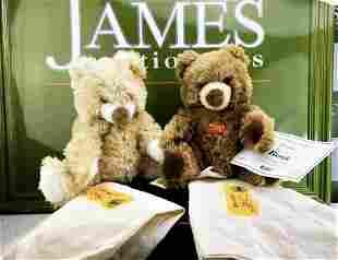 Steiff Bernie & Bertha Danbury Mint Bears