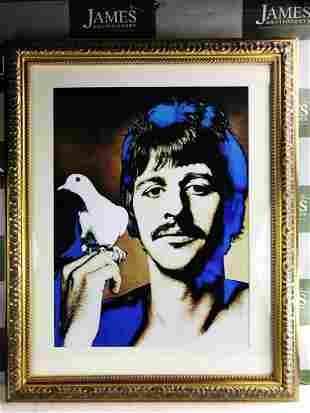 Ringo Starr Of The Beatles By Richard Avedon, Vintage