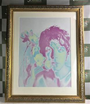 Paul McCartney Of The Beatles By Richard Avedon,