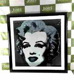 Andy Warhol 1987 Marilyn Monroe Large 33 x 33 Inch
