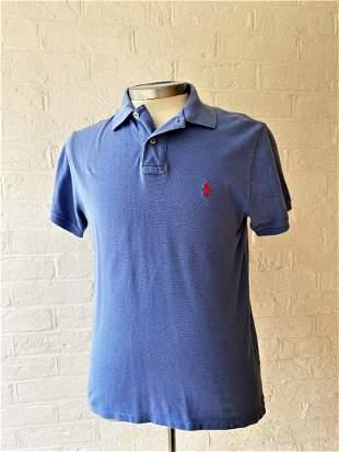 Ralph Lauren Polo Gents Size Medium-Light Blue