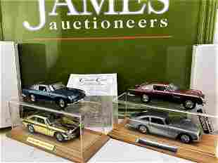 James Bond Aston Martin Collection of Danbury Mint DB5