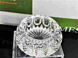 Lead Crystal Mid Century Cut Bowl