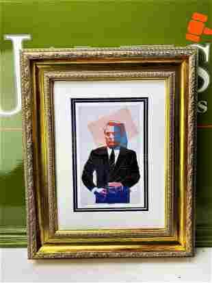 "Andy Warhol ""John Gotti"" 1986 Numbered Lithograph &"