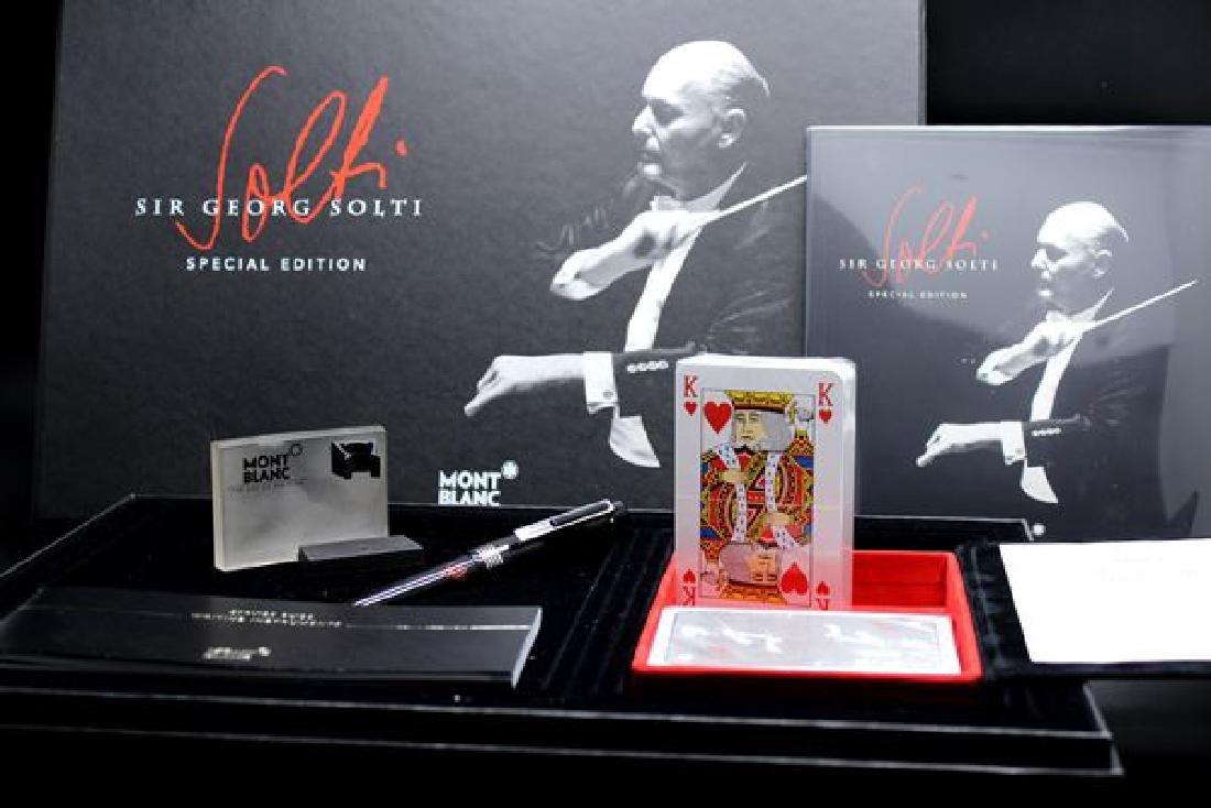 "Montblanc  ltd Edition ""Sir Georg Solti "" ballpoint pen"