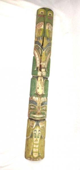 Northwestern Coast Native Totem Pole Ca. 1900 #7