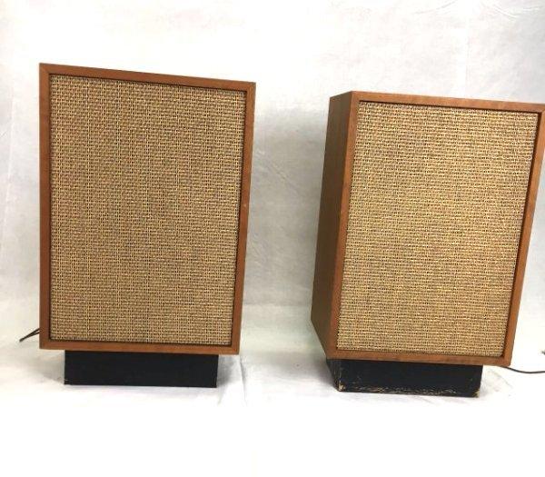 Calrad speakers Mid-Century Modern design audio stereo